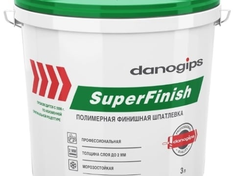 Шпаклевка Sheetrock SuperFinish 3,0 л ( 5 кг )