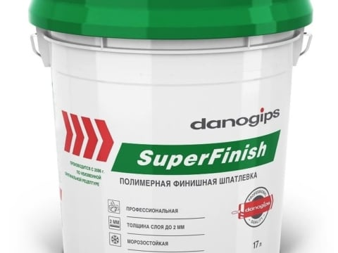 Шпаклевка Sheetrock SuperFinish 17 л ( 28 кг )